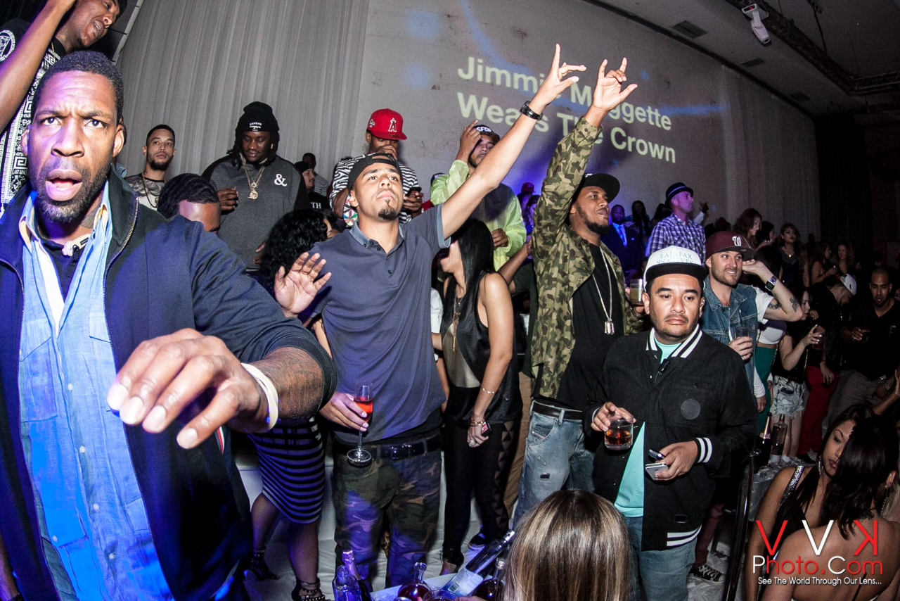 ... DeRay Davis Turn up for the King of Hollywoods Birthday Bash | The