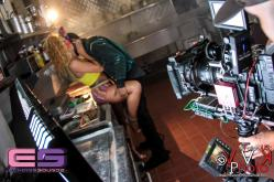 Juicy J with Model JackyOh getting hot and heavy 2