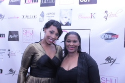 Charity lynette of Curvy Chick Fitness and Patricia Freeman