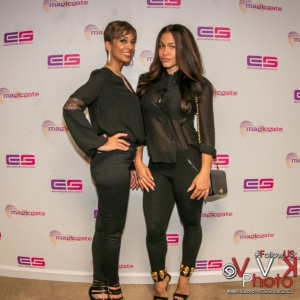Monica Payne and Rosa Acosta